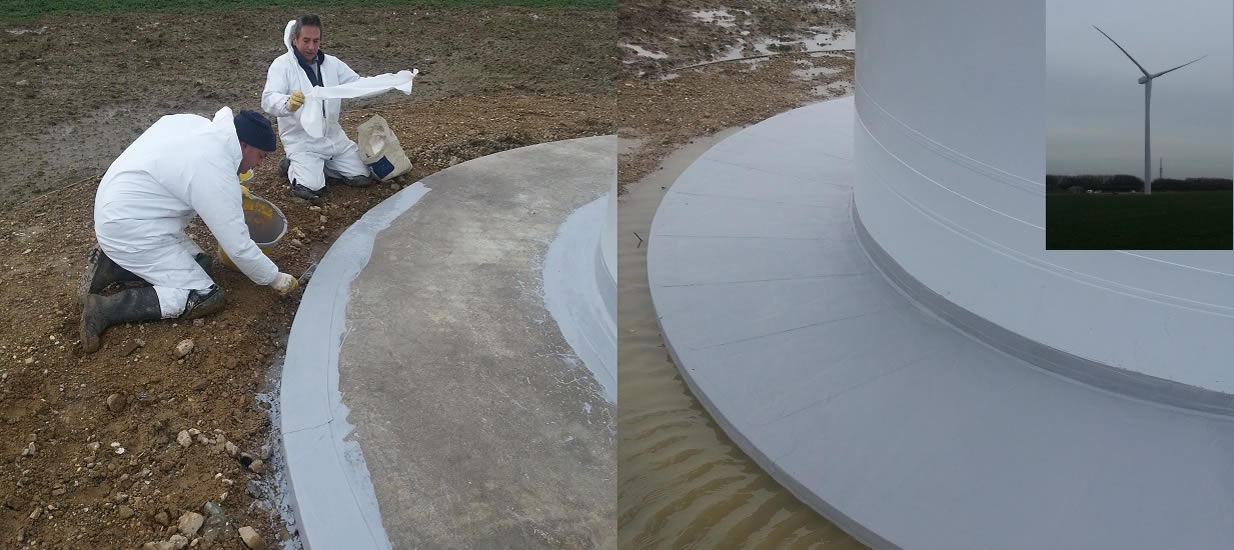 Concrete Repairs & Protection