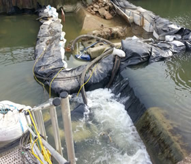 Market Harborough Weir Re-Profiling